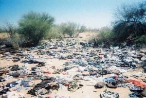 Illegal Immigrant trash